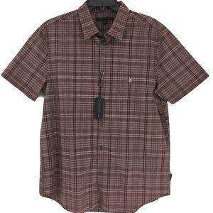 New John Varvatos Star USA Short Sleeve Shirt Sz M